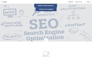 LINKLISTEN EINTRAG Webseiten Screenshot