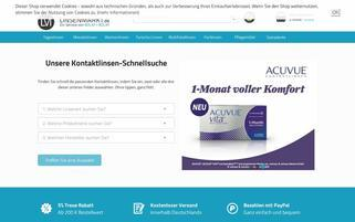 Linsenmarkt Webseiten Screenshot