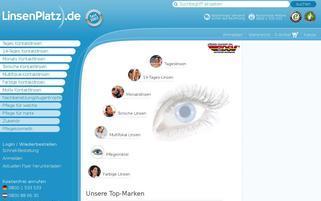 LinsenPlatz Webseiten Screenshot