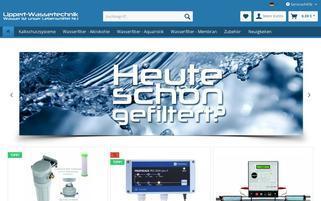 lippert-wassertechnik.de Webseiten Screenshot