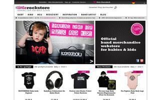 Little Rock Store Webseiten Screenshot