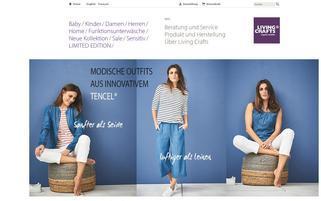 Living Crafts Webseiten Screenshot