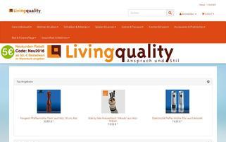 Living Quality Webseiten Screenshot
