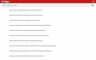 Livingo Webseiten Screenshot