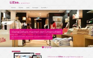 lizaa.de Webseiten Screenshot