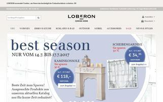 Loberon Webseiten Screenshot