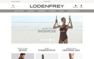 lodenfrey.com Webseiten Screenshot