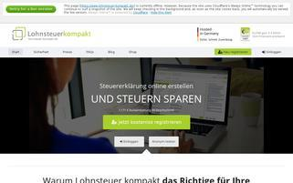 Lohnsteuer Kompakt Webseiten Screenshot