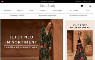 long tall sally Webseiten Screenshot