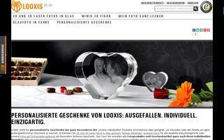 Looxis Webseiten Screenshot