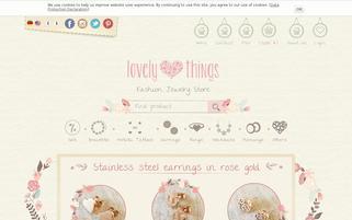 lovely-things.com Webseiten Screenshot
