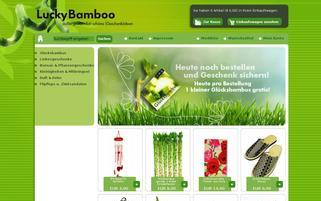 lucky bamboo Webseiten Screenshot