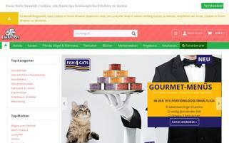 Lucky-Pet Webseiten Screenshot