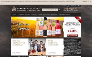 ludwig-von-kapff.de Webseiten Screenshot