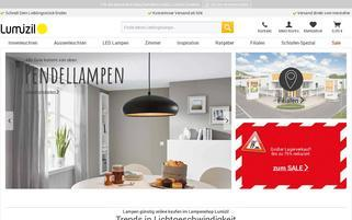 Lumizil Webseiten Screenshot