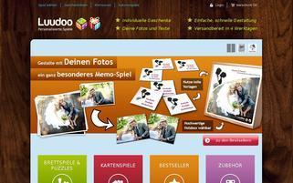 Luudoo Webseiten Screenshot