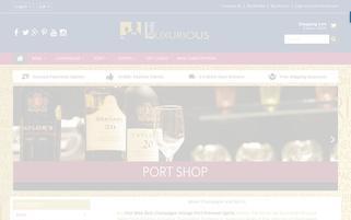 Luxurious Drinks Webseiten Screenshot