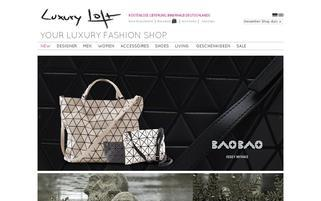 Luxury Loft Webseiten Screenshot