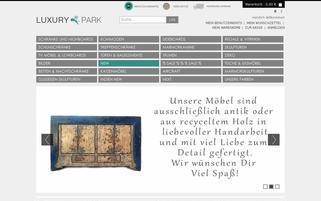Luxury-Park Webseiten Screenshot