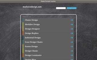 machaisedesign.com Webseiten Screenshot