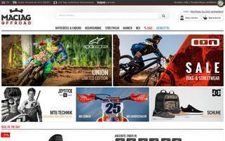 Maciag Offroad Webseiten Screenshot