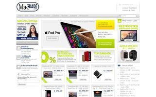 MACTRADE Webseiten Screenshot
