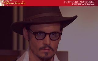 Madame Tussauds Webseiten Screenshot