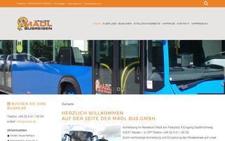 Mädl Motorrad-Helme Webseiten Screenshot