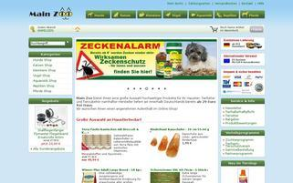 Main Zoo Webseiten Screenshot