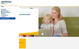 Maingau Webseiten Screenshot