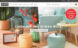 Maisons du Monde Webseiten Screenshot