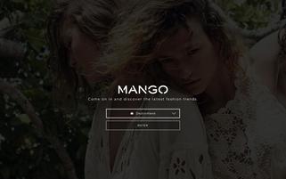 MANGO Webseiten Screenshot