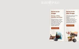 Marco Polo Webseiten Screenshot