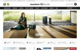 Markenkoffer Webseiten Screenshot