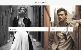 Massimo Dutti Webseiten Screenshot