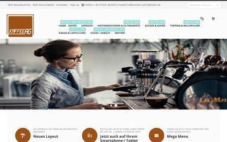 Mavey Webseiten Screenshot