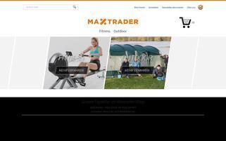 MAXTrader Webseiten Screenshot