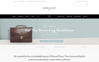 Maxwell Scott Webseiten Screenshot