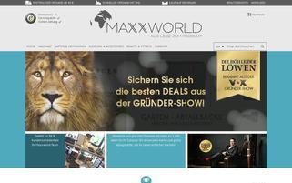 maxx-world.de Webseiten Screenshot