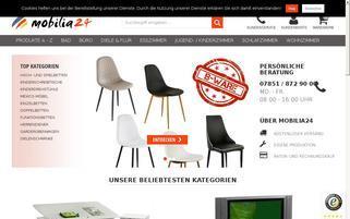 Maxxi Möbel Webseiten Screenshot