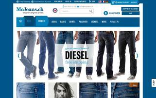 McJeans Webseiten Screenshot