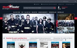 Media Dealer Webseiten Screenshot