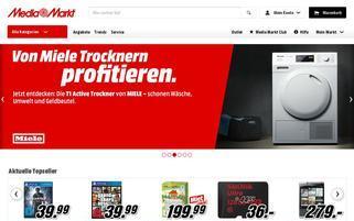 Media Markt Webseiten Screenshot