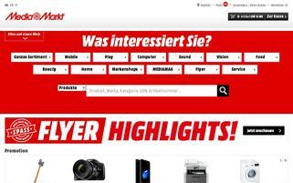 mediamarkt.ch Webseiten Screenshot