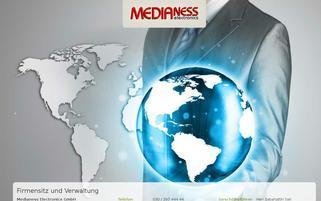 Medianess Webseiten Screenshot