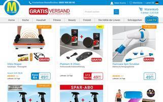 mediashop.tv Webseiten Screenshot