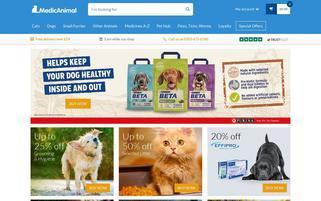 MedicAnimal Webseiten Screenshot