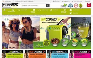 medicapnutrition.de Webseiten Screenshot