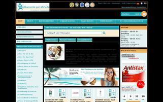 Medikamente per Klick Webseiten Screenshot