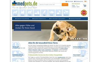 medpets Webseiten Screenshot